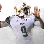 Flowers with his 20th TD pass of the season ties the #USF season record set by @CoachBlack10 in 2001. https://t.co/McNk7qxxuV