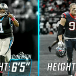 Cam Newton's measurables are ridiculous. https://t.co/Vr90phA8bf