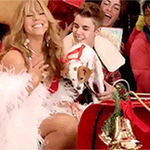 Christmas has STARTED so heres @justinbiebers dreams coming true with @MariahCarey & a puppy #GrimmysChristmasGIFs https://t.co/EbjUpMvtkX