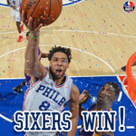 The (other) streak is over! Sixers beat Lakers for first win since Mar 25, snapping run of 28 games without a win. https://t.co/XLHNxGk1xP