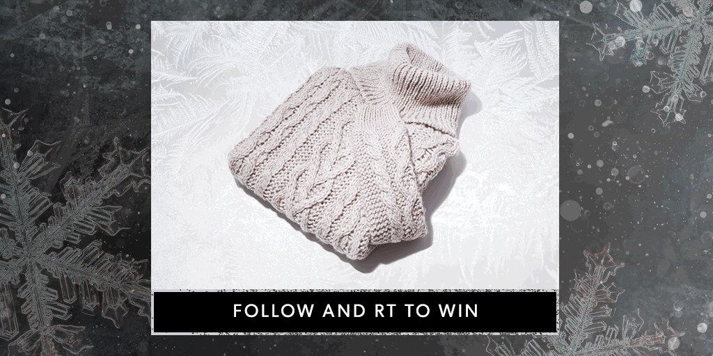 Stylish, chic & perfect for Christmas. Follow & RT to #win this knit. https://t.co/04FrWJU9Zw T&Cs apply. #NLadvent https://t.co/XwkF28uct5