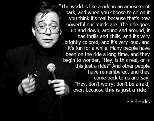 Sending up lots of big love for #BillHicks today on his birthday!