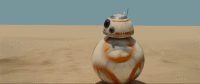 BB8 is absolutely adorable #StarWarsTheForceAwakens https://t.co/Mx7uW1GUap