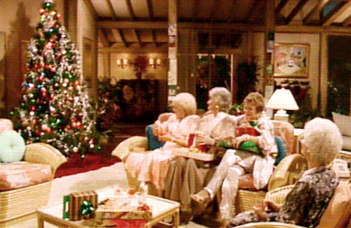 have yourself a golden christmas tune in to goldengirls at 87c