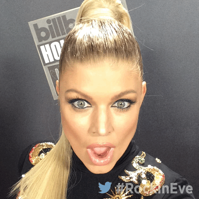 RT @NYRE: Our HOST @Fergie looking FIERCE AS EVER! #RockinEve is about to START on ABC! https://t.co/TNAqls8DYo