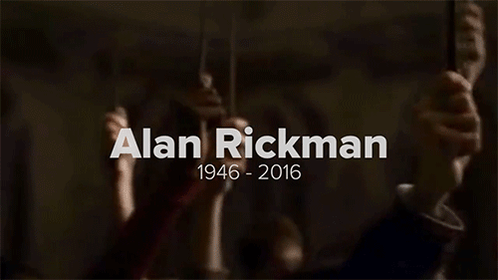 RIP Alan Rickman. Always. https://t.co/GkoCN2Oi9f