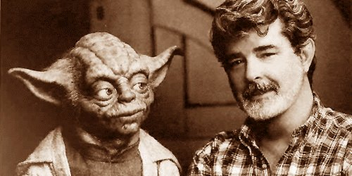 Happy birthday to the one & only George Lucas! ¡Feliz cumpleaños Mr.