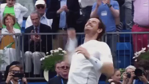 Happy 30th Birthday to the Ballsiest man in tennis... the unstoppable Bring on Wimbledon!