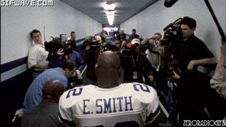 Happy Birthday to my hero,Emmitt Smith.