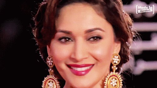 Via Tumblr:   ohmybollywood:  Happy 50th birthday to the queen - Madhuri Dixit!