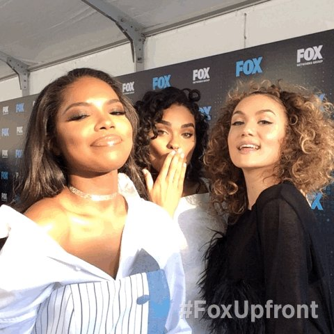 At the #FoxUpfront party with the ladies of @STAR @wordtoJude @brittanyogrady and @RyanDestiny