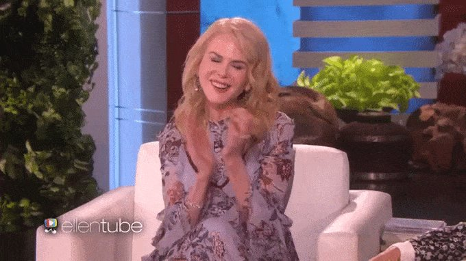 Nicole Kidman proved her Oscars seal clapping was just one big little lie: