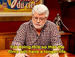 """I thought Star Wars was too wacky for the general public.\"" Happy Birthday George Lucas."