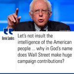 .@SenSanders slammed Wall Sts contributions to political campaigns in tonights #DemDebate. https://t.co/AWdqNvkVCy https://t.co/LEVTaYyT0D