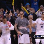 Russell Westbrook and Enes Kanter celebration… https://t.co/Z38CKo0ZxC