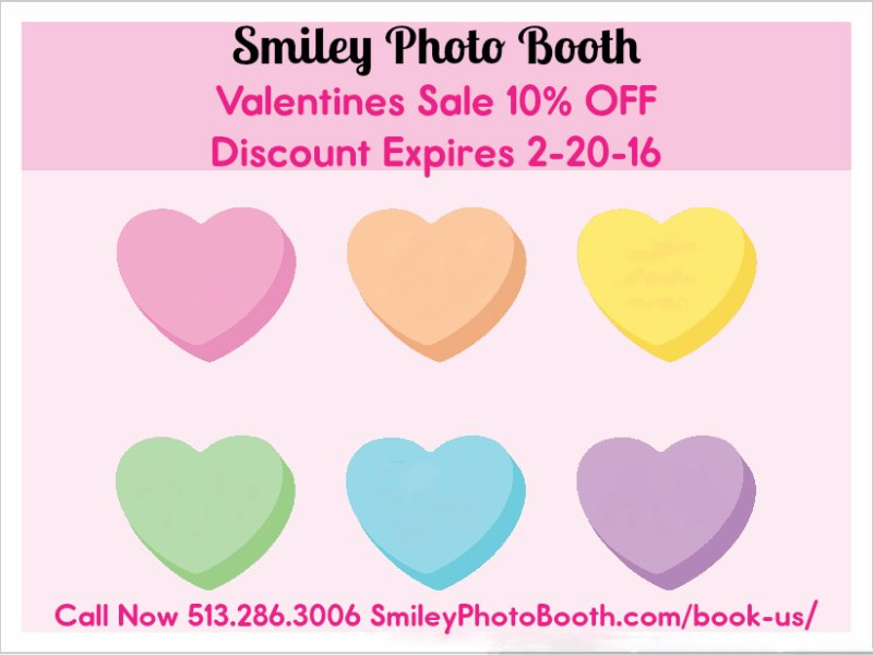 Smiley Photo Booth Valentines Sale 10% OFF https://t.co/xz4ED5bZwg