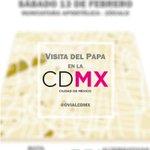 Conozca la ruta del #PapaEnCDMX de la Nunciatura hacia el Zócalo. https://t.co/zXjbMqG7JX