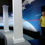 .@HillaryClinton takes the stage for the @NewsHour #DemDebate live on @CNN. Follow along: https://t.co/0ULZk741p2 https://t.co/IbTy5L1Yqd