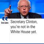 .@SenSanders hit at @HillaryClinton in tonights #DemDebate. https://t.co/rwgEhKUh0l