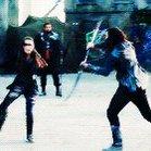 LEXA DANCING WITH HER SWORDS IS MY RELIGION https://t.co/PxsUuBbCGa