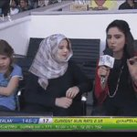 Shahid Afridis daughters among the spectators. https://t.co/DEtf2gTJSw #PSLT20 https://t.co/wB0Si8HB3d