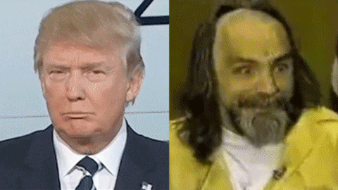 Whoever made this, thank you. Trump v. Manson. https://t.co/ztUx36aY1c