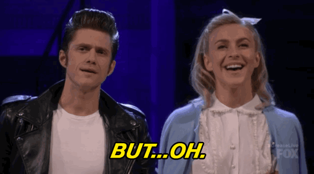 We're losing count on the number of times we're swooning over @AaronTveit...