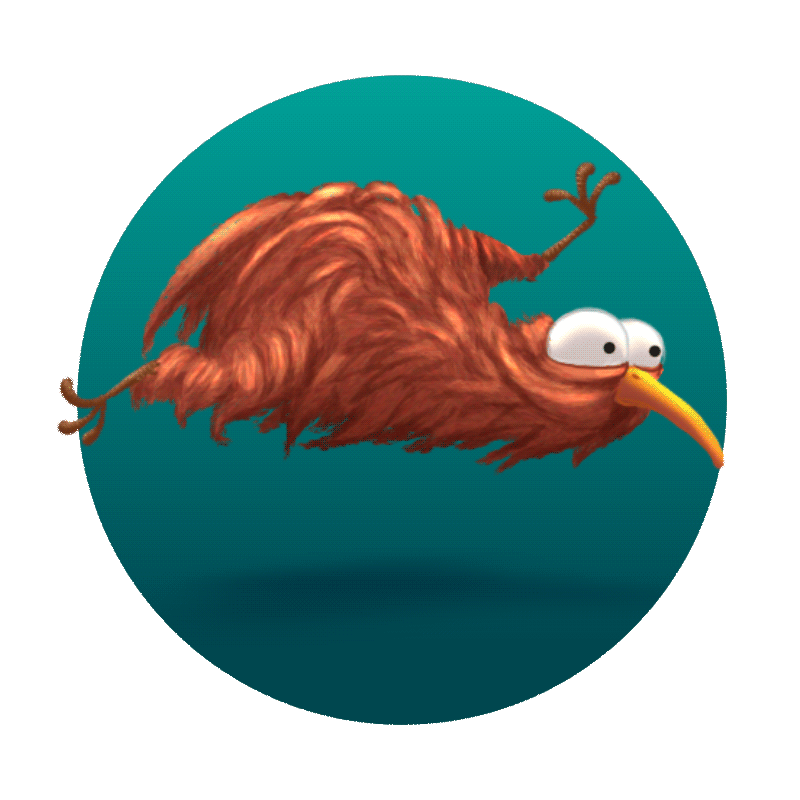 RT @FredePatiences: Just put some long hair on a funny kiwi #animation by @CamClarkFilm on @hitRECord :D https://t.co/8pR98pz4xa https://t.…