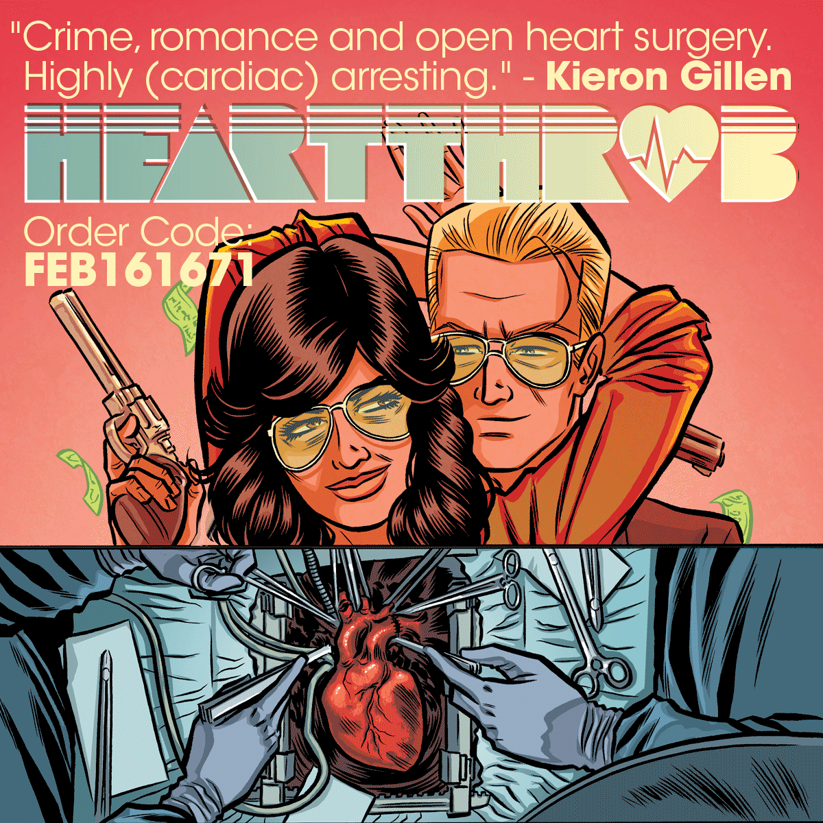 Planning on checking out #Heartthrob? Please ask your retailer to order it when you head to the shop! FEB161671 https://t.co/ubdPGcLUhL
