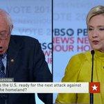 .@HillaryClinton and @BernieSanders disagree on foreign policy at the #DemDebate https://t.co/NoOSP5ydnk https://t.co/XvRqIJZxXL