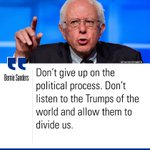 .@SenSanders slammed @realDonaldTrump during tonights #DemDebate. More: https://t.co/AWdqNvkVCy https://t.co/OqbTNUNoRq