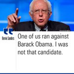 .@SenSanders hit @HillaryClinton for saying he has criticized the President in tonights #DemDebate. https://t.co/4nN3hLEVbp