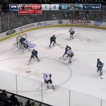 Just a casual goal from #TheCaptain on the power play. #CGYvsSJS https://t.co/Gc3QdHyn9r