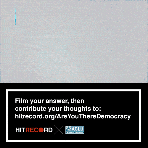 RT @hitRECord: This is a super simple challenge — film yourself on camera answering these 3 questions: https://t.co/8ZO8cyU6XL https://t.co…