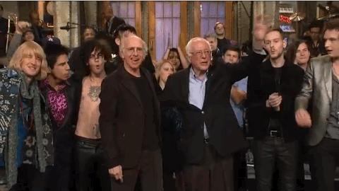 Loved @SNLUpdate MT @nbcsnl: Tonight's show -Thanks to @BernieSanders @RedHourBen (Owen Wilson) & Larry David! #SNL https://t.co/ASi3DeS1Ja