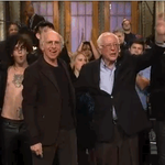 Tonights show was one for the ages. Thanks to @BernieSanders, @RedHourBen, @the1975 and of course Larry David! #SNL https://t.co/rKDEJ35hb4