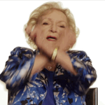 Betty White dabbing. https://t.co/SED9K9ogBR