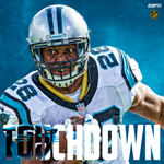 TOUCHDOWN. Stewart from the one-yard line. Panthers trail, 10-7. #SB50 https://t.co/A2zbN7a3L3