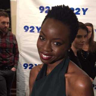 Looking cute as can be, @WalkingDead_AMC star @DanaiGurira on #92YTalks red carpet. Did you watch live on @YahooTV? https://t.co/d8uWTRzhHz