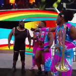 The #WorldsStrongestUnicorn = #NOTBooty! @TheMarkHenry #TheNewDay #TablesMatch #RAW https://t.co/SRPaG7embV