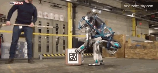 """Pick up the box, Atlas....   Not like that you JERK!""  Who will save Atlas from his life at Boston Dynamics?"