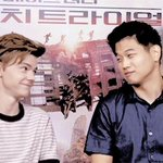 THE WAY THOMAS BRODIE SANGSTER AND KI HONG LEE ARE LOOKING AT EACH OTHER IS THE CUTEST THING EVER https://t.co/QAR73zdXqD