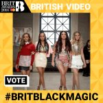 😻 Will @LittleMix make it to the Final 5? Only if you keep using #BRITBLACKMAGIC!! https://t.co/qejKvhQW4M #BRITs 😻 https://t.co/eoe0lFoK6f