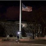 Flag outside the Supreme Court lowered to half staff, honoring Justice #Scalia https://t.co/QCW8nWwlhI https://t.co/naeFxqt7Yo