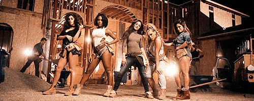 OK #Harmonizers, @FifthHarmony   just slayed the game with the #WorkFromHome video! Watch: https://t.co/qRmpFjUohB https://t.co/ptKI5LNQEz