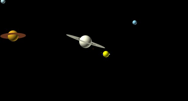 I programmed the movement of the planets and moons to help me learn to animate with @OpenSCAD. (Sun not to scale.) https://t.co/w6dxCjrMjk