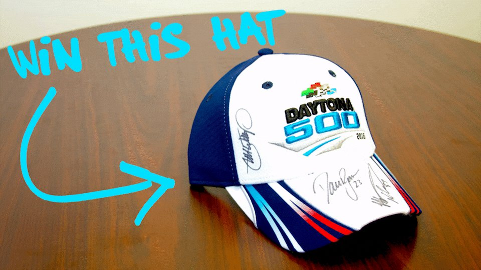 RETWEET to win this hat signed by @mw55, @DavidRagan, and @mattdracing! Must follow to win.  Ready.....GO! https://t.co/VjYUR3EIJg