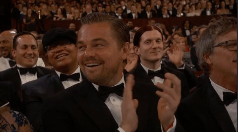 It happened, everyone. Leonardo DiCaprio just got his first #Oscar for The Revenant. #Finally https://t.co/j69wpI0wHY