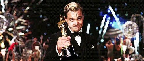 ¡Y se lo lleva #LeonardoDiCaprio! https://t.co/vTlseIMtBI