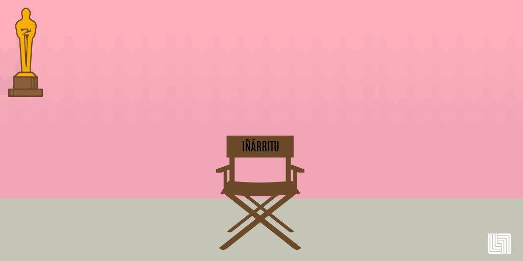 Una película excelente, un gran equipo y el mejor director. ¡Celebramos contigo #Iñarritu! #Oscar2016 https://t.co/fz1tB8STQt